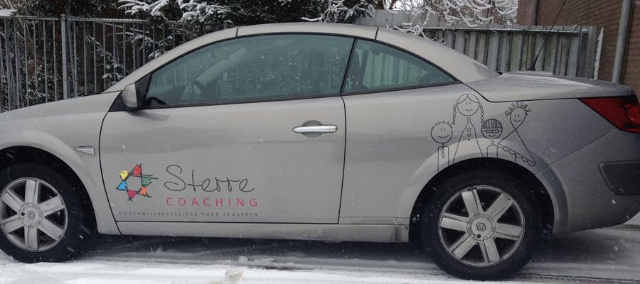 Persoonliijke en kindvriendelijke autobelettring!