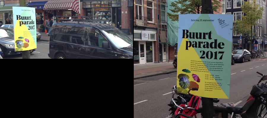 hardboard reclame posters