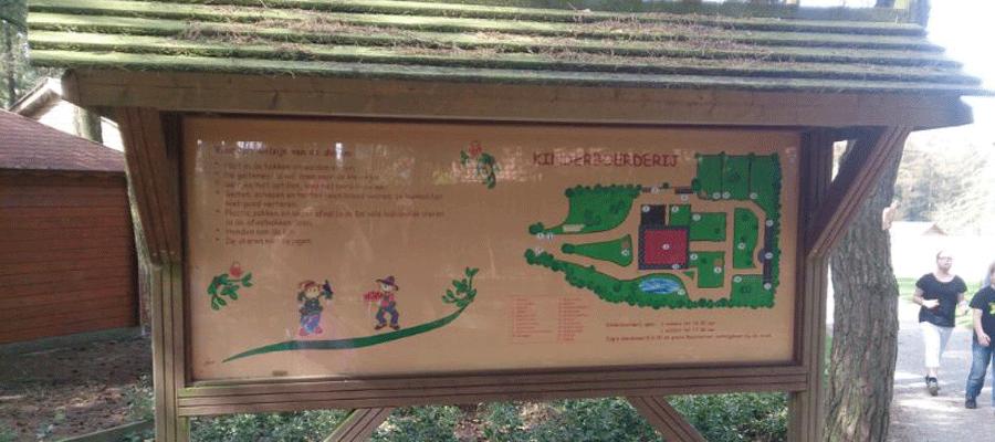 Gerestaureerd kinderboerderij plattegrond.
